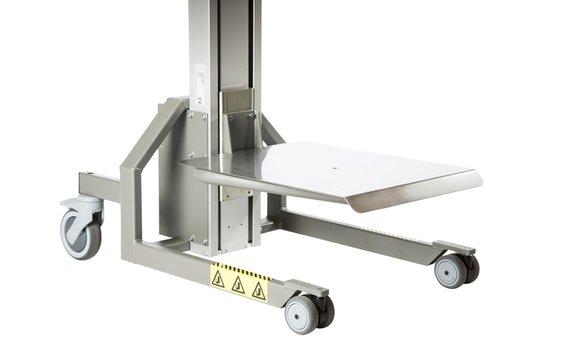 Platform RVS Hovmand tilhulp Impact80