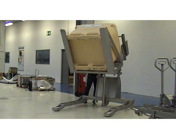 RVS Kantelaar Ulma EBT10S voor palletboxen