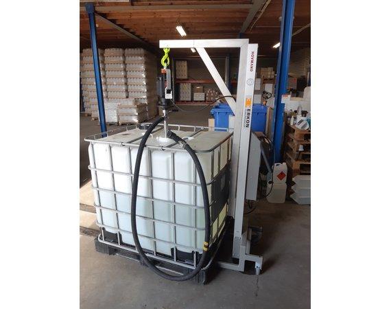 Verrijdbare tilhulp Impact80 voor vatenpomp/ibc pomp