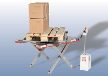 Flexlift laagbouw heftafel Model FE Draaiplatform
