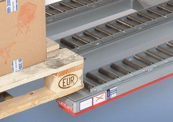 Flexlift laagbouw heftafel Model FE Rollenbaan