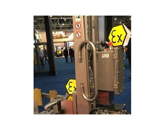 Explosievrije tilhulpmiddelen voor gebruik in Atex omgeving