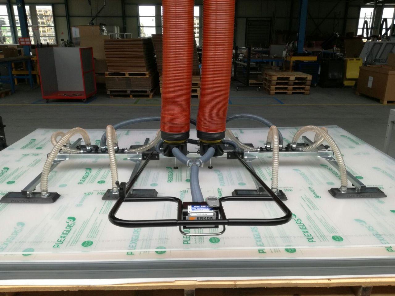 Vacuumheffer tilhulp voor plaatmateriaal