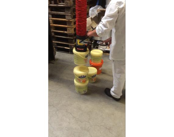 Vacuumheffer tilhulp voor emmers