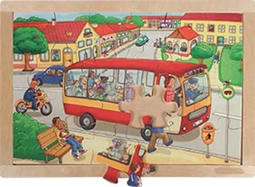 Rahmenpuzzle Kindergarten.
