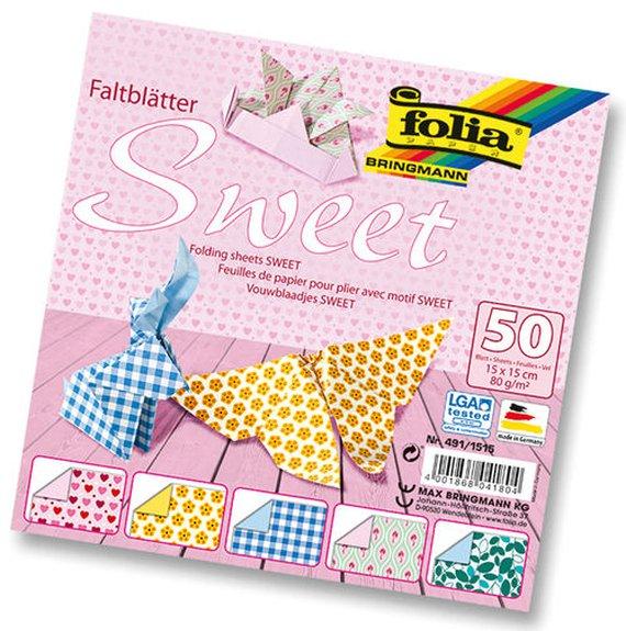 Vouwbladen Sweet