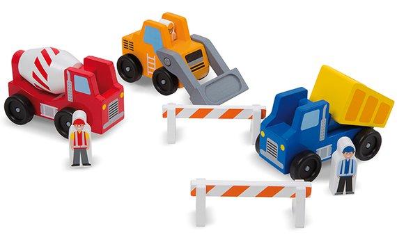 Baufahrzeuge (3) Holz