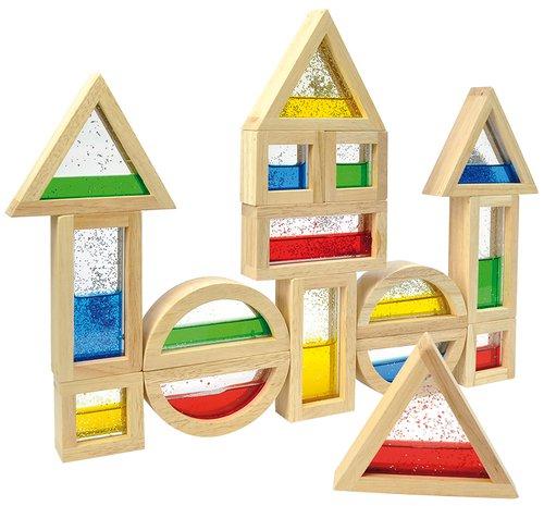 Blocks mit Glitter