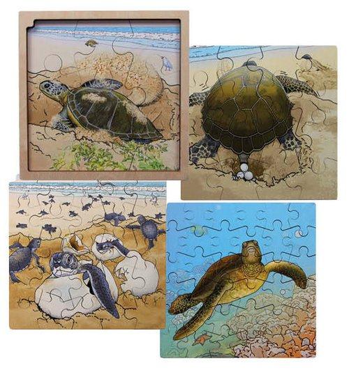Circle of Life-Puzzle Schildkröte