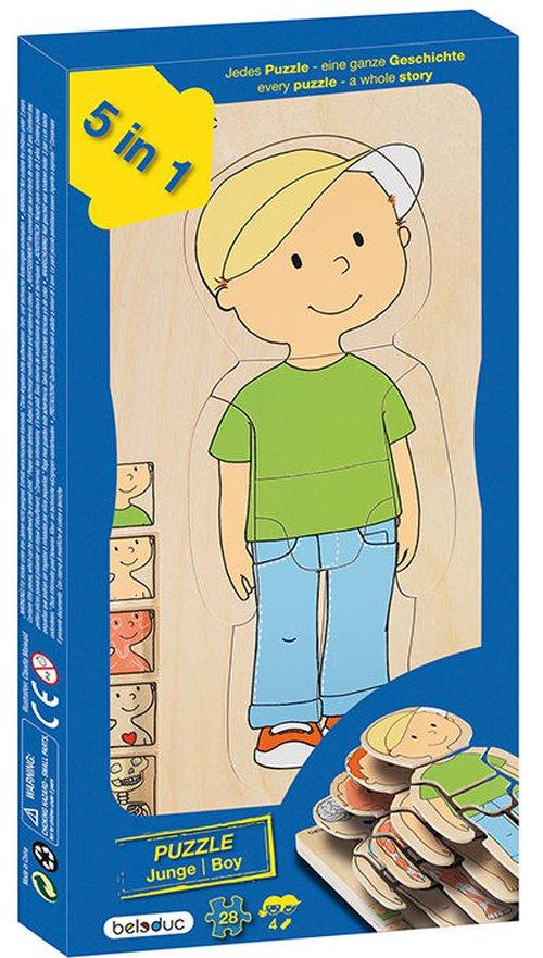 5-Lagenpuzzel Mijn lichaam, Jongen