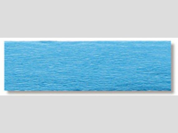 Crêpepapier lichtblauw * 10 vouw