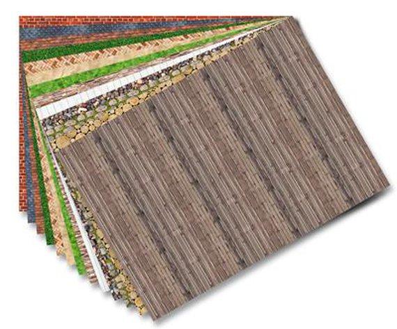 Motivpapier Strukturen
