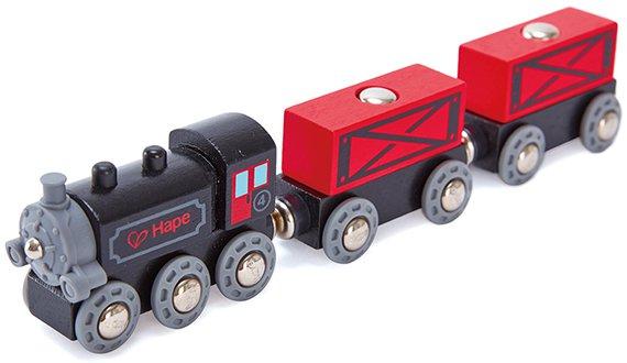 Dampf-Güterzug