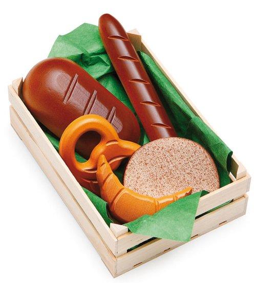 Kist met brood