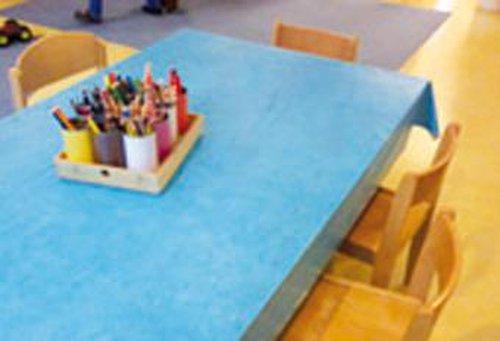 Tischdecke aus Wachstuch