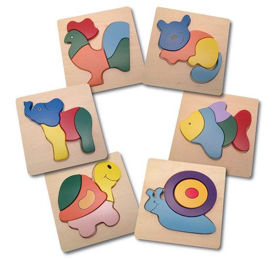 Kleinkind Puzzle Set (6)