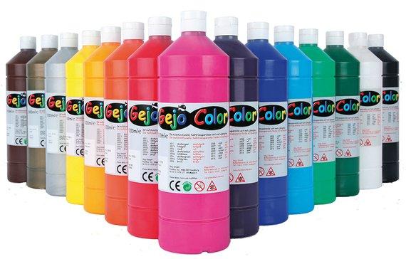 Gejocolor assortiment, 10 kleuren.