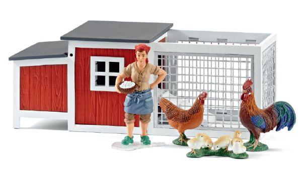 Hühnerstall von Schleich