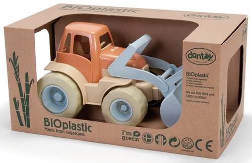 Traktor gemaakt van BioPlast