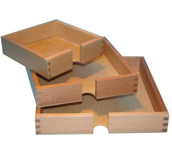 Flatblätterkasten Holz