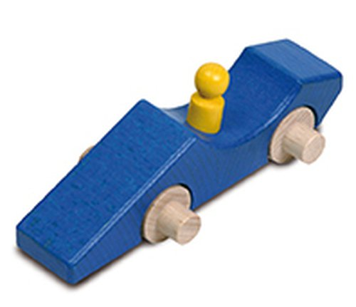 Sprinterauto blauw