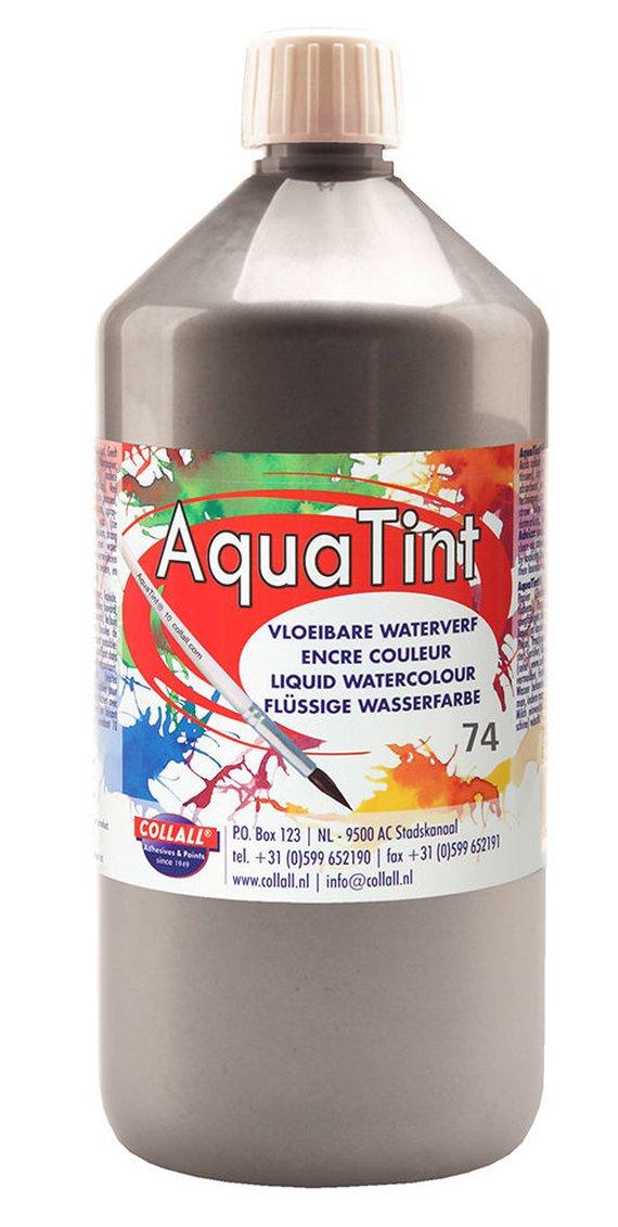 Aquatint 500 ml. Silber.