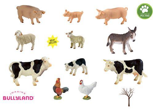 Bauernhoftiere 1 Bullyland