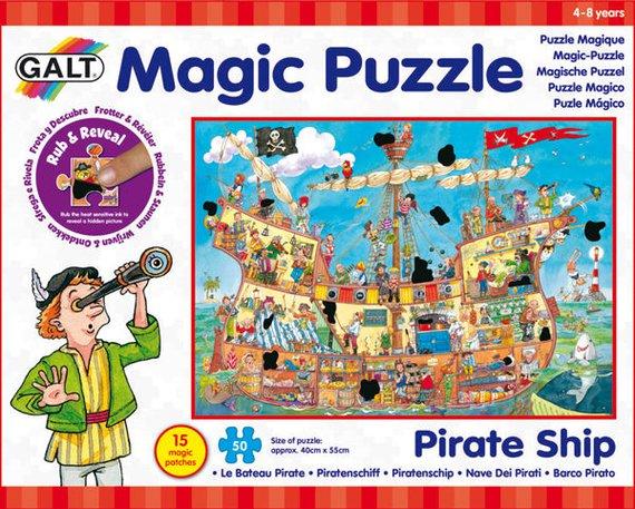 Thermopuzzle Piratenschiff