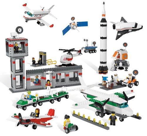 Lego Lucht- en ruimtevaartset.