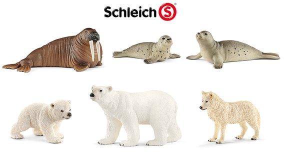 Schleich Tiere von der Arktik