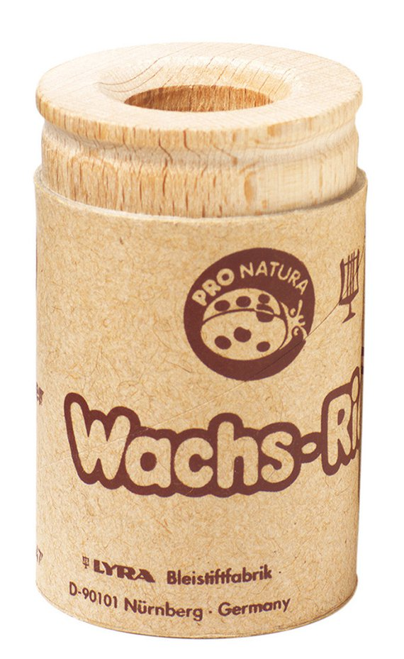Wachsmal-anspitzer Holz