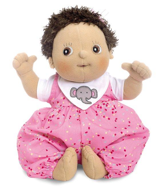 Pop / Knuffelpop Molly: 45 cm. groot, 700 gram zwaar. Deze zweedse poppen zijn echt geweldig