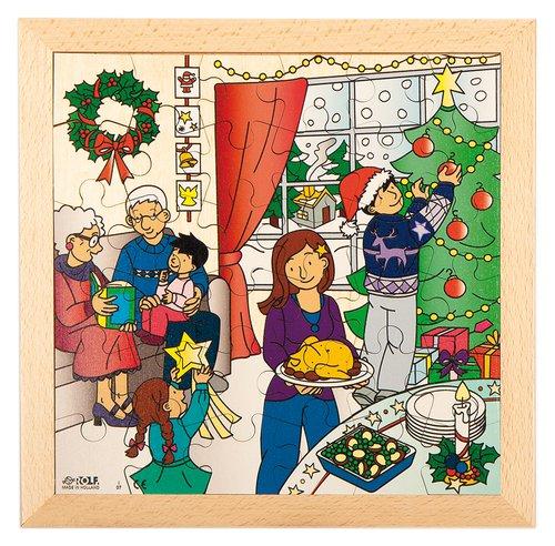 Puzzle Weihnachten (mit gratis App)