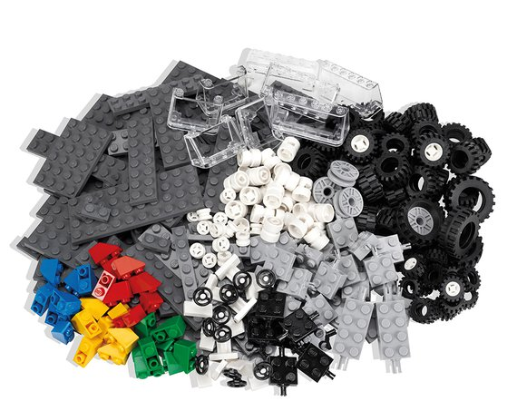 Lego Räder Set.