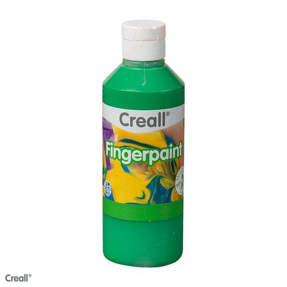 Fingerfarbe grün 750ml.