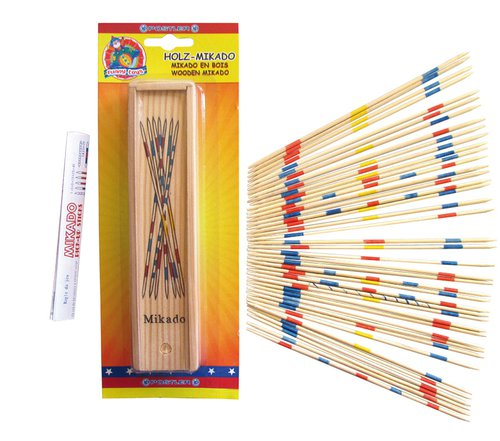 Mikado spel hout