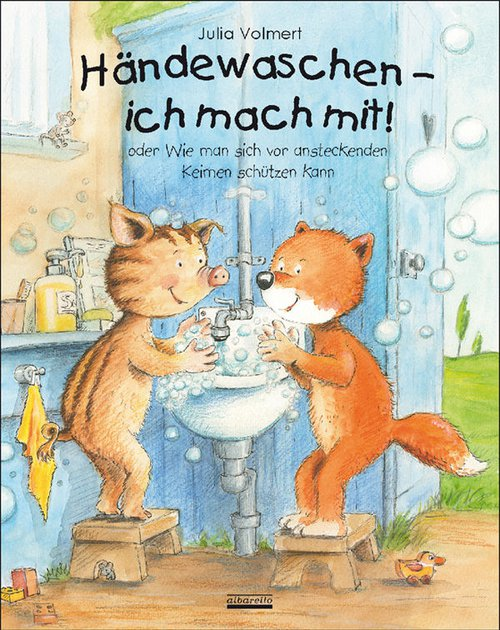 Hände waschen, ich mache mit! Aktueller als jemals zuvor.
