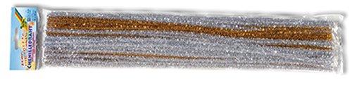 Pfeifenputzer gold & silber