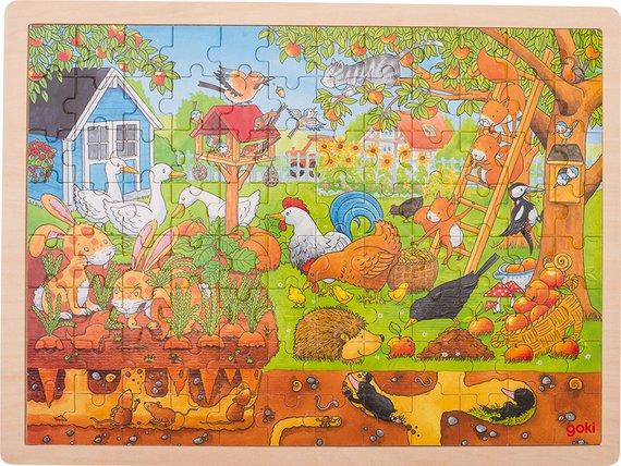 Puzzel Onze Tuin