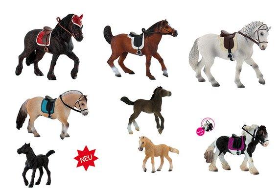 Bullyland Set Pferde 2