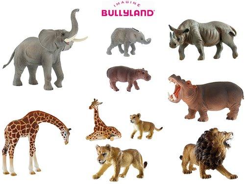 Bullyland Wilde Dieren set1
