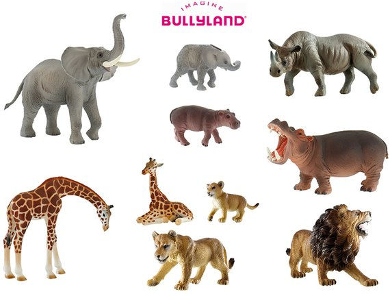 Bullyland Zootiere Set 1