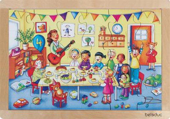 Maxi puzzel Verjaardag
