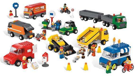 Lego Fahrzeuge Set.