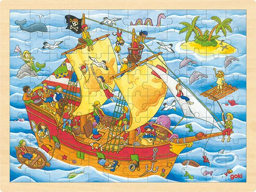 Puzzel Piraten