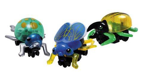 Krabbel-Insekten met friktiemotor
