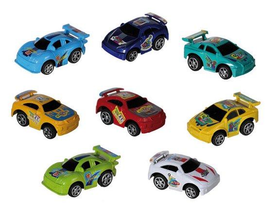 Kunststoffen autootjes
