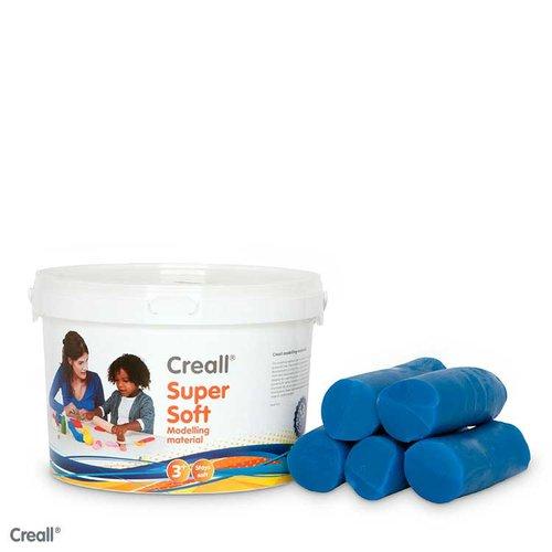Creall-klei Supersoft 1750 gram blauw