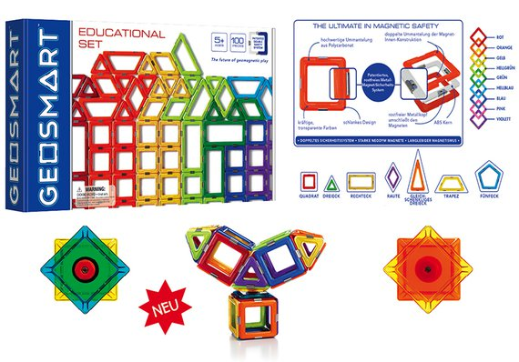 GeoSmart Educationset 100 tlg.