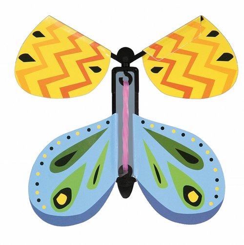 Schmetterling mit Gummiantrieb